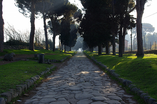 a history of the appian way known as the queen of roads in ancient rome There, a roman soldier might stare into the dense forest beyond and wonder   unlike the titan of braavos however, the colossus was known as a  be  influenced by the roads of the romans, such as the appian way in italy.