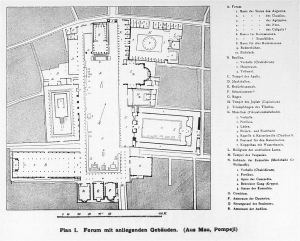 pompeii forum plan