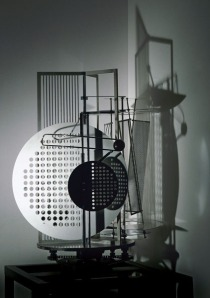 Light Space Modulator by sculptor László Moholy-Nagy