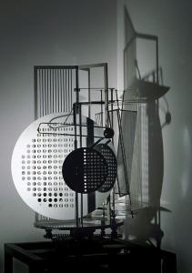 Light Space Modulator by sculptor László Moholy-Nagy