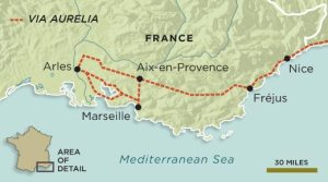 map-of-Via-Aurelia